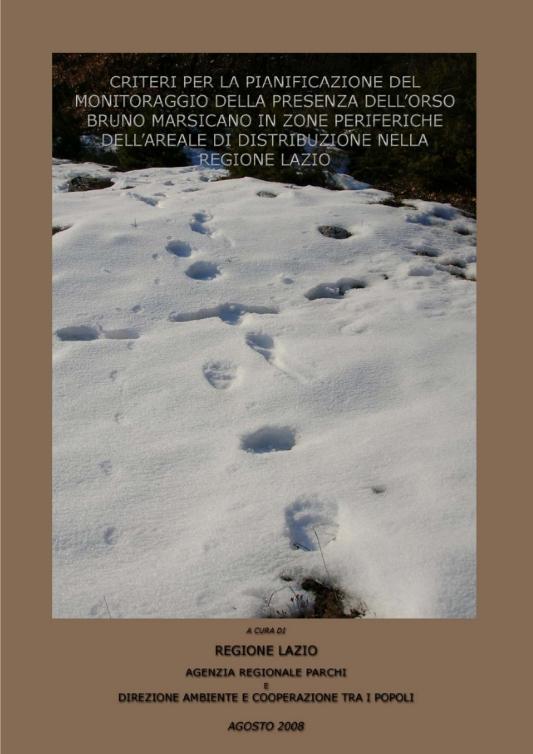 La Rete di Monitoraggio dell'Orso bruno marsicano