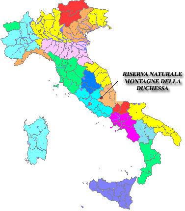 Regioni Cartina Italia.Cartina D Italia Mappa Delle Regioni